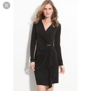 Michael Kors Sophisticated Faux Wrap Dress